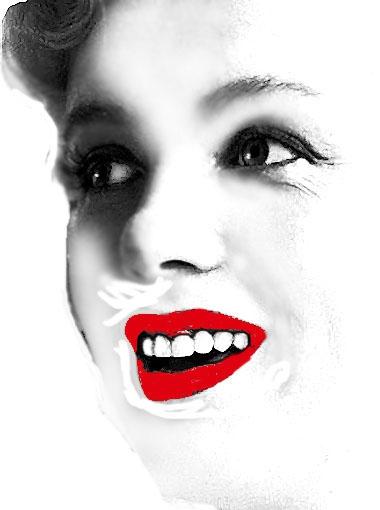Marilyn Monroe par markt